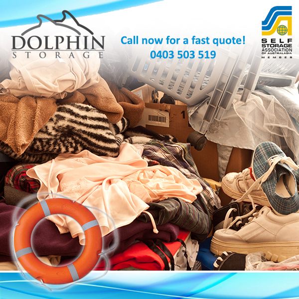 Drowning in Stuff? Dolphin Self Storage Units