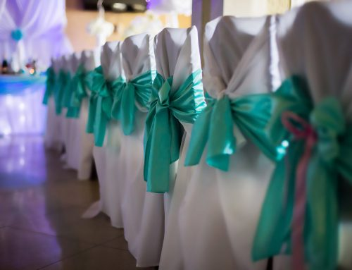 Storing your wedding hire furniture and fittings