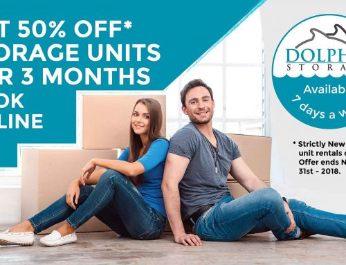 Get 50% off! for 3 Months on all available Self Storage Units